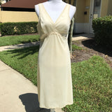 LORD AND TAYLOR Women's Vintage Ivory Nightgown Babydoll Sleepwear, Size 40