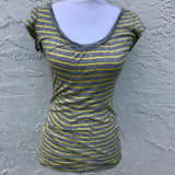Express Striped T-Shirt, Size M