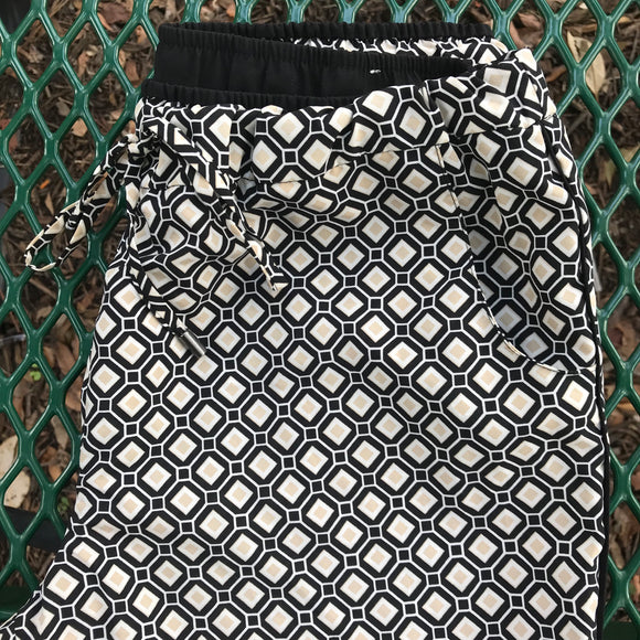 COLDWATER CREEK Women's Casual Soft Print Pants, Size XS 4-6