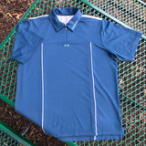 Oakley Men's Zip Polo Shirt, Size XL