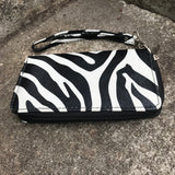 Zebra Print Clutch Wallet