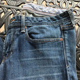 Gap 1969 Women's Real Straight Medium Wash Jeans, Size 28/6r