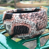 Snakeskin Print Fashion Bangle