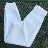 ALLESON ATHLETIC Men's Adult White Baseball Pants, Size Small
