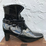 Cloudwalkers Patent Leather Boots, Size 10M