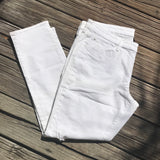 GAP SKINNY FIT Women's Plus Size 16 White Jeans