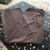 OSCAR DE LA RENTA: Women's Plus Size Brown Dress Pants, Size 1X 16