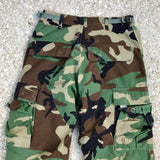 US AIR FORCE Combat Uniform Fatigues With Patches Soldier CETTO KIA Size Men's Medium
