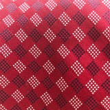"Tommy Hilfiger 3.75"" Men's Red Silk Tie"