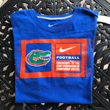 NIKE FLORIDA GATORS Unisex 100% Cotton Official T-Shirt, Size L