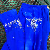 Indian Pakistani Girl Salwar Traditional Costume Shalwar Kameez 3Pc Skirt Set, Child Size 32