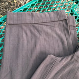 Worthiness Stretch Women's Wide Leg Brown Dress Pants, Size 4