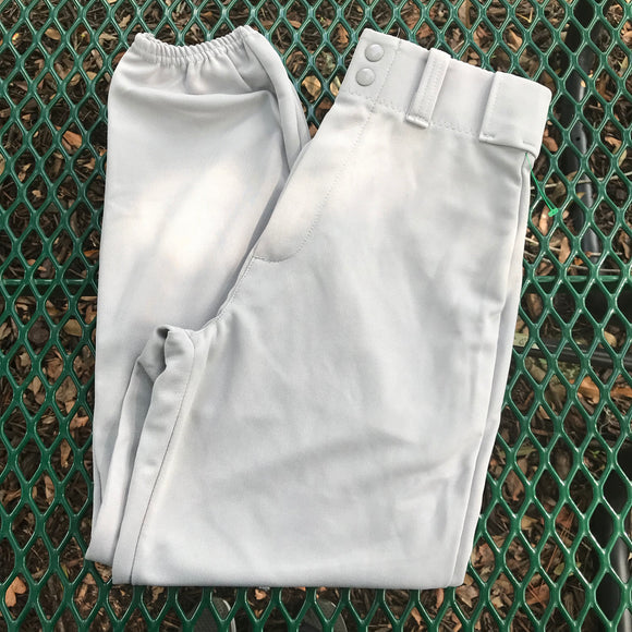 ALLESON ATHLETIC NEW Gray Baseball Pants, Size Adult S