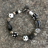 Artisan Crafted Handmade Glass Bead Bracelet