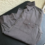 Kenneth Cole 120's 2 Ply Men's Button Down Shirt, Size Large
