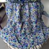Antilia Femme Ruffled Floral Blouse, Top 3 Piece Boho Chic Outfit / Lot Size Medium