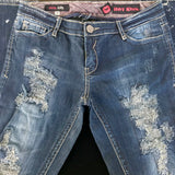 Hot Kiss Skinny Lily Jeans, Size 9
