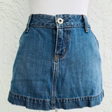 Gap Jeans Denim Mini Skirt, Size 2
