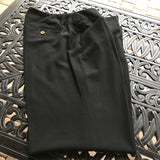 Ralph Lauren Petites Women's Black Dress Pants, Size 8P