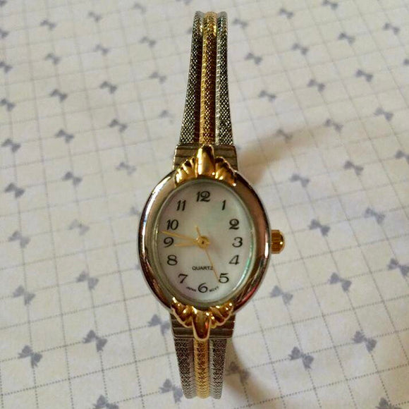 Quartz Stainless Steel Japan Movement Ladies Watch
