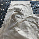 Avenue Women's Plus Size Soft Cotton Tan Khaki Dress Pants, Size 3X 22