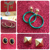 5 Piece Earrings Bundle Lot