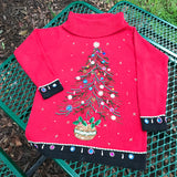 B.P. DESIGN Women's Holiday Beautiful Ugly Christmas Sweater, Size S