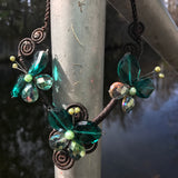 Glass Beaded Artisan Crafted Necklace