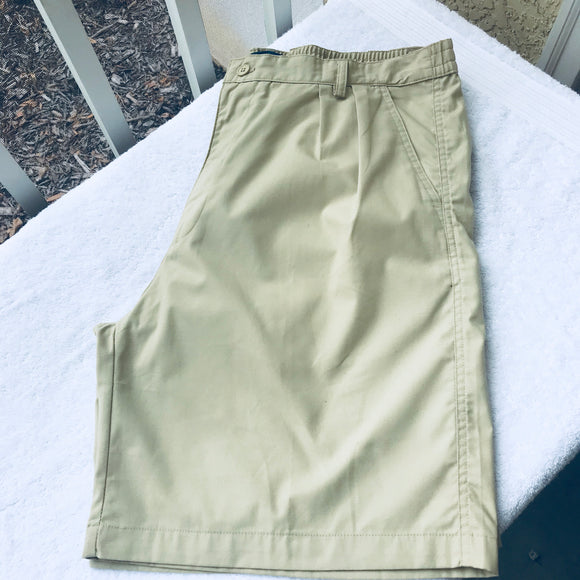 BERNARDI Life Style Basic Men's Khaki Shorts, Size 36 US / 54 IT