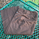 Apt. 9 Stretch Maxwell Women's Brown Capri Pants, Size 4