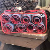 TI STYLE 25 Piece Red Hair Rollers With Bag