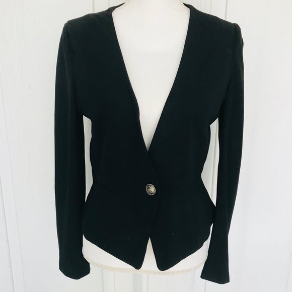 Forever 21 & Company Stretch Women's Black Blazer, Size M