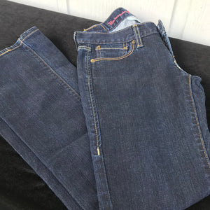 Levi's Ultra Low Boot 522 Dark Denim Jeans, Size OM/W25