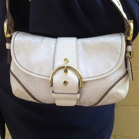 Coach Beige Purse