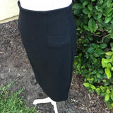 TWENTY ONE Women's Black Pencil Career Skirt, Size 1