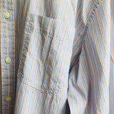 Sonoma Men's Striped Long Sleeve Button Down Shirt, Size XLT