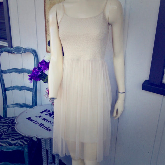 Xhilaration Lace & Tool Dress, Size XS