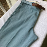 KNIGHTSBRIDGE Menswear Classic Blue Sports Wear Dress Pants, Size 40 x 27""