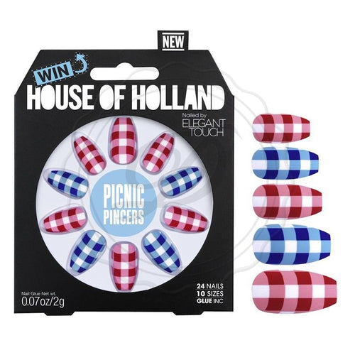 Picnic Pincers - House Of Holland False Nails - Ditzy Doll