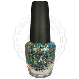 Technic Warhol Glitter Bits Clear Nail Polish 12ml