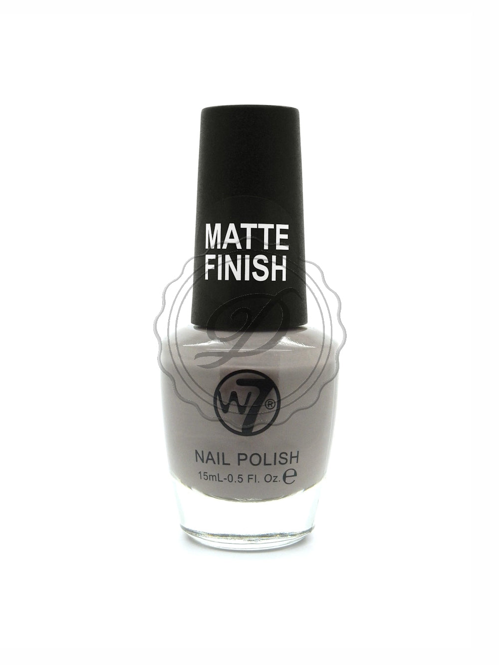 W7 Matte Sludge Grey Nail Polish 15ml