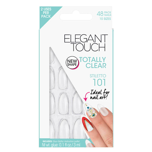 Totally Clear - Elegant Touch False Nails