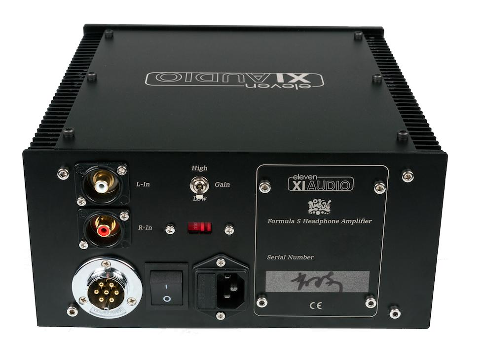 Eleven Audio XIAUDIO 'Formula S' High Purity Headphone Amplifier