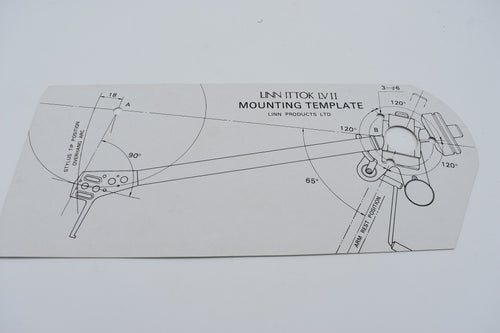 Ittok LV II Mounting Template  (Preowned, Ref 001216)