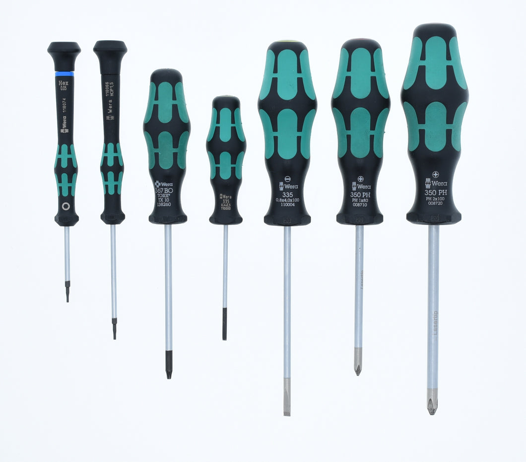 Wera LP12 Screwdriver Set (NEW)