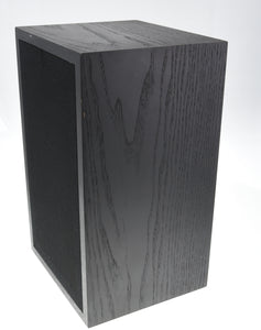 Linn Kan Speaker Pair in Black Ash. One tweeter NOT working (Preowned, Ref 001502)