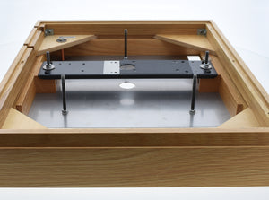 Linn LP12  Oak Plinth, Top-Plate & Cross Brace 2014  (Preowned, Ref 001344)