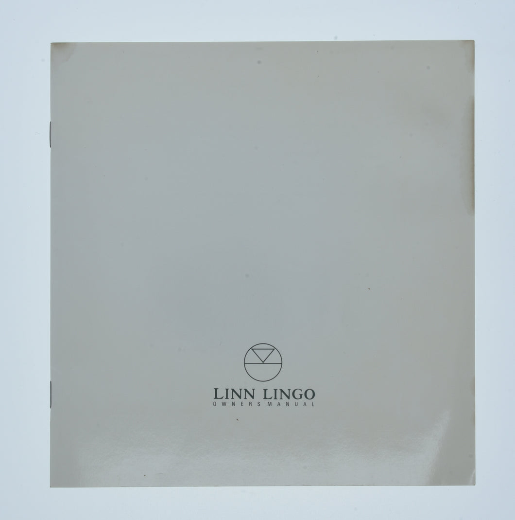 Lingo 1 Manual  (Preowned, Ref 001217-1)