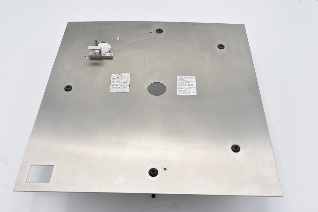 LP12 Top-Plate   (Preowned, Ref 000753-1)