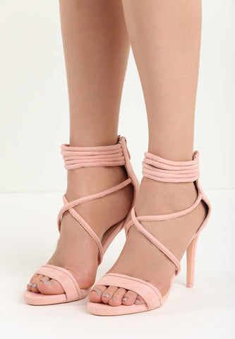 Kelly High Heel Sandal - Grey